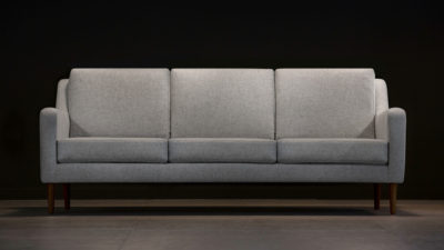 The Jet Stream Sofa, Grey Wool